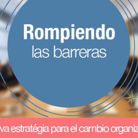 ROMPIENDO BARRERAS DE ACERO:  Nuevas estratégias para la Organización